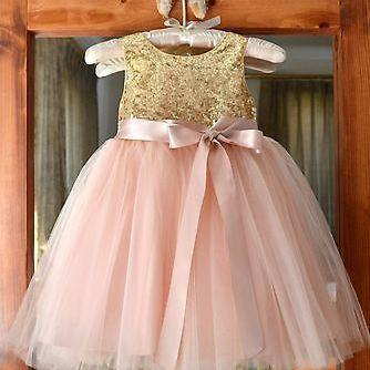 kids prom dress, sparkly flower gir..