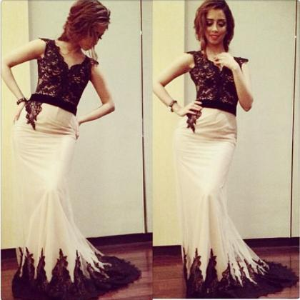 Mermaid Evening Dress, Saudi Arabic..