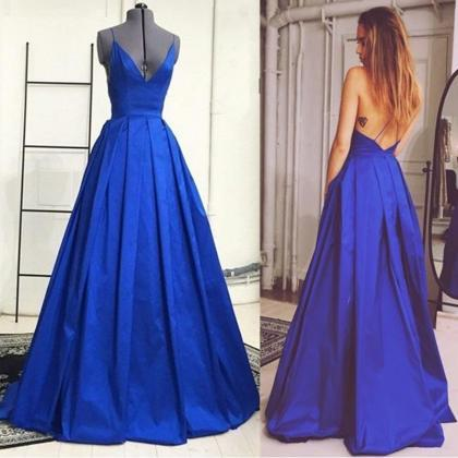 Sexy Prom Dress, Backless Prom Dres..