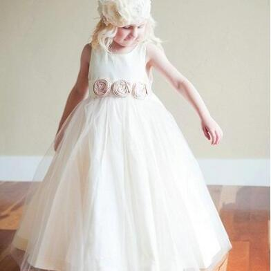 Flower Girl Dresses For Weddings, L..