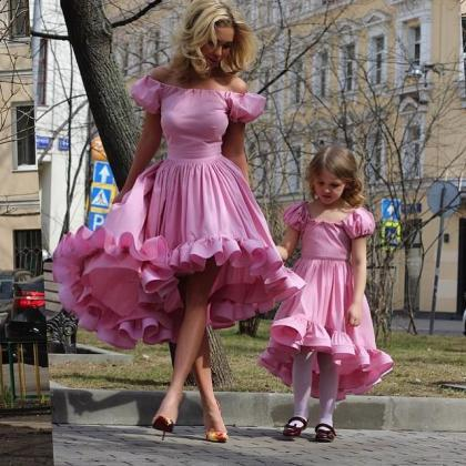 Mother Daughter Matching Dresses, C..