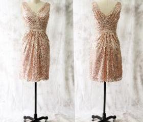 Rose Sequins Short B..