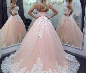 Pink Wedding Dress, ..