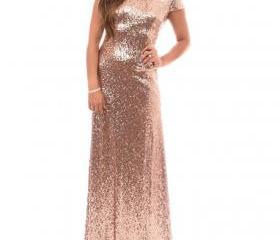 Rose Sequins Bridesm..