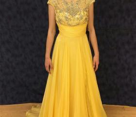 Yellow Prom Dress, A..