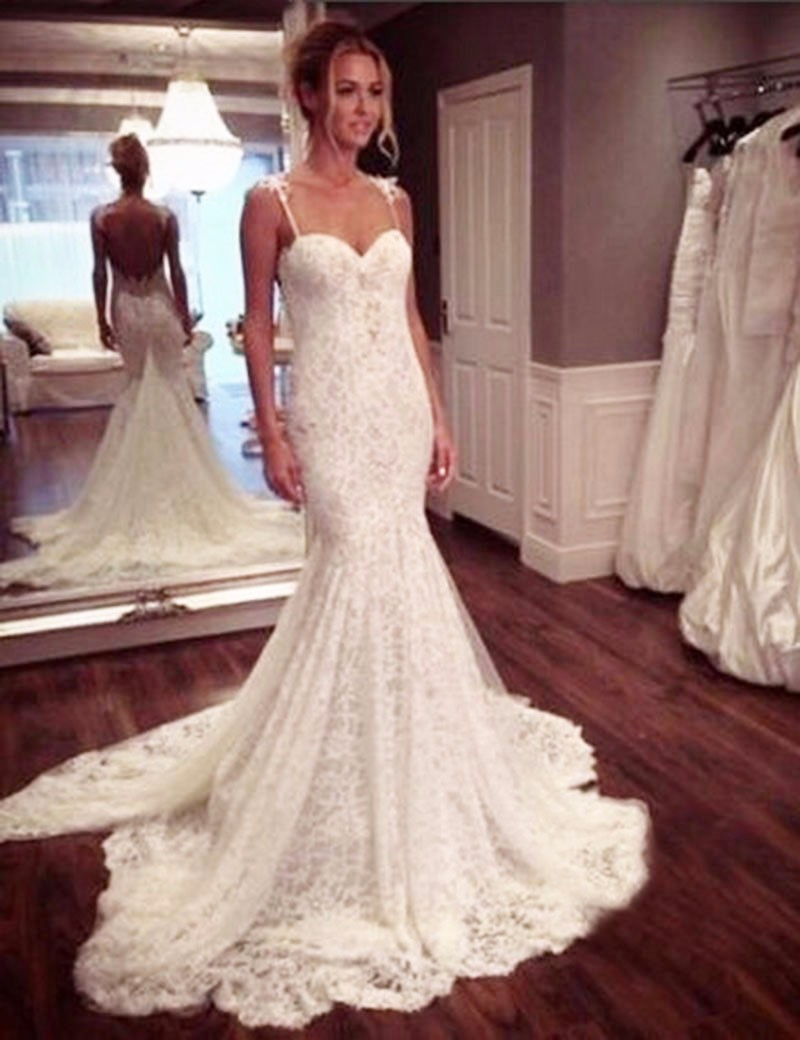 581d619e9e6 Mermaid Wedding Dress