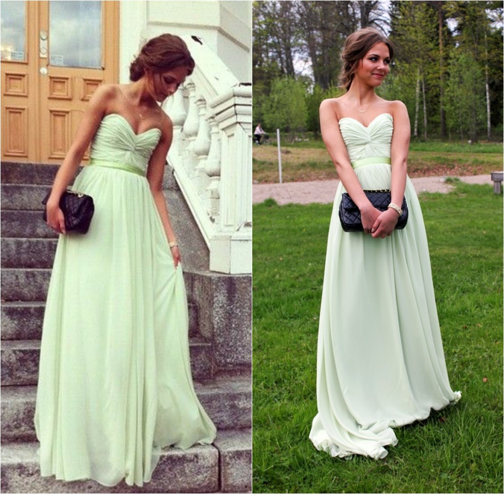 Mint green long chiffon bridesmaid dress 2016 cheap elegant mint green long chiffon bridesmaid dress 2016 cheap elegant bridesmaid dresses custom bridesmaid dress for women wedding party dresseswedding guest ombrellifo Gallery