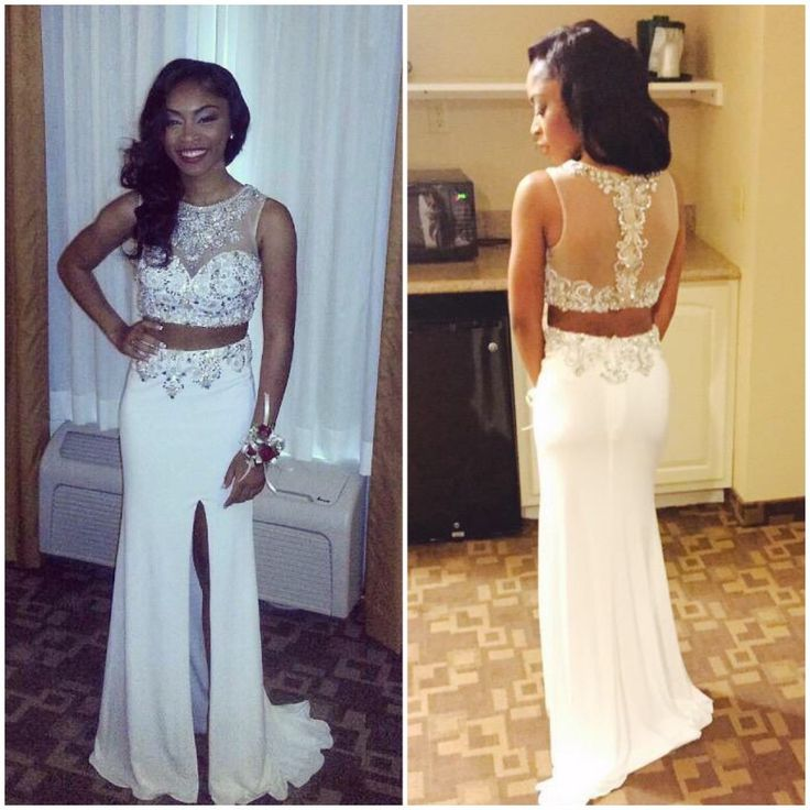 dcd8205a578 2016 Two Piece Prom Dresses For Women