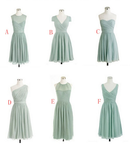 Sage Bridesmaid Dresses, Mismatched Bridesmaid Dresses, Cheap Bridesmaid Dresses, Short Bridesmaid Dresses, Junior Bridesmaid Dresses, Custom Bridesmaid Dresses, Wedding Party Dresses
