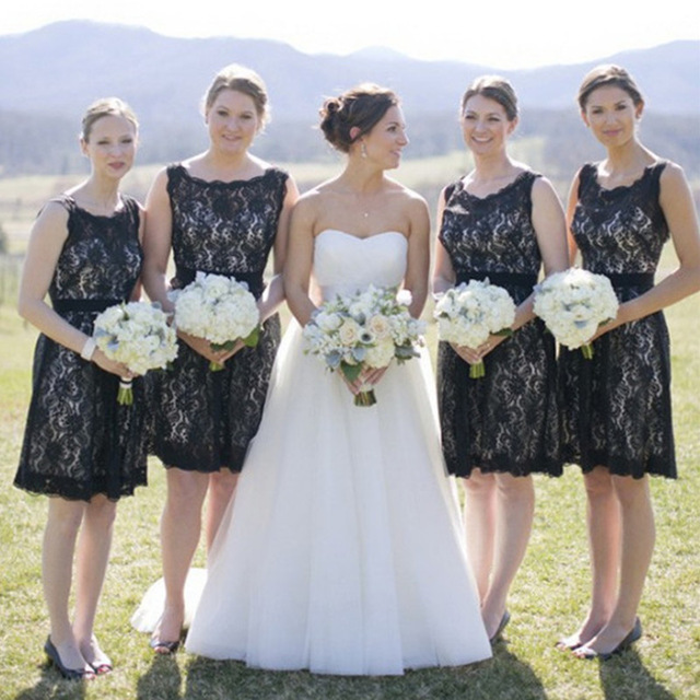 607e2d382683 Black Bridesmaid Dresses, Lace Bridesmaid Dresses, Vintage Bridesmaid  Dresses, Short Bridesmaid Dresses, Cheap Bridesmaid Dresses, Bridesmaid  Dresses 2017, ...
