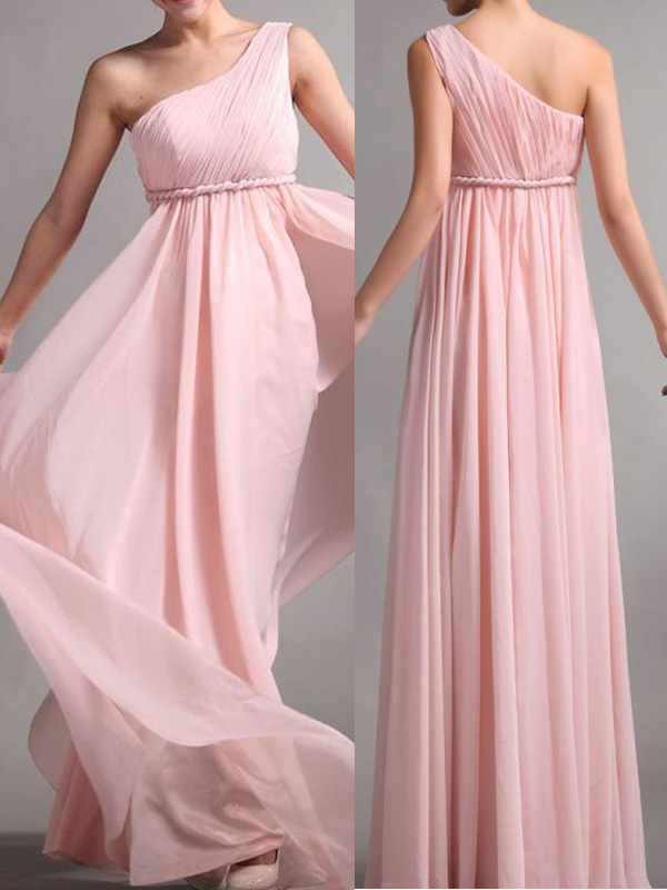 Plus Size Bridesmaid Dress Blush Pink Bridesmaid Dress One