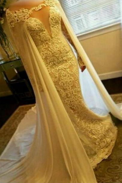 Dubai Evening Dress, Muslim Kaftan, Lace Applique Evening Dress, Ivory Evening Dress, Evening Dresses 2018, Elegant Evening Dress, Arabic Evening Dress, Beaded Evening Dress