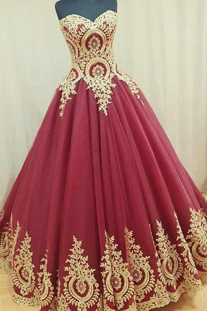 Burgundy Prom Dress, Elegant Prom Dress, Vintage Prom Dress, Princess Prom Dress, Boho Prom Dress, Lace Applique Prom Dress, Puffy Prom Dress, Vestido De Festa De Longo, Cheap Prom Dress, Evening Dresses Prom